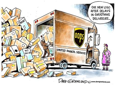 christmas gift for ups driver politicalcartoons