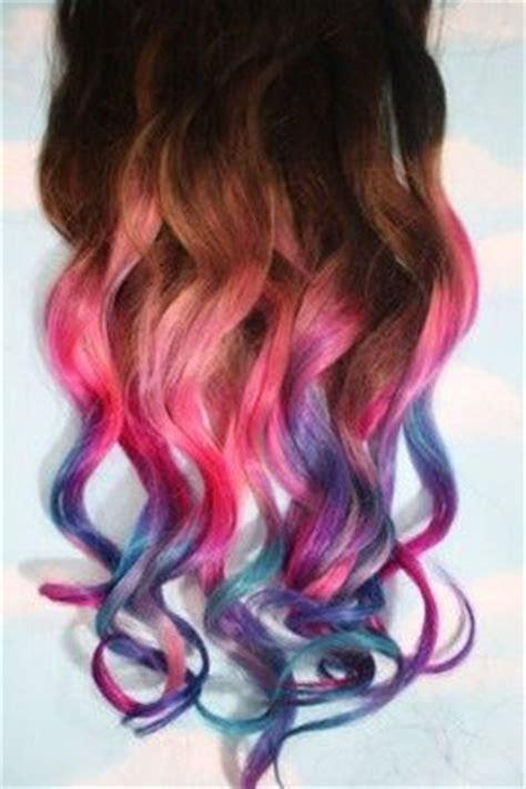 hair colors for teens ombr 233 mermaid hair health beauty stuff pinterest