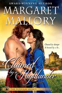 Claimed By The Highlander U811 margaret mallory claimed by the highlander