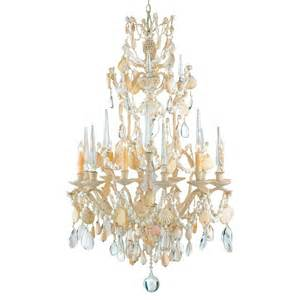 seashell chandelier lighting seashell 6 light baroque 2 tier chandelier kathy