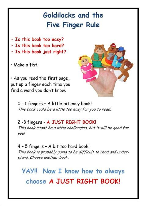 goldilocks and the just right potty books 17 best ideas about 5 finger rule on five