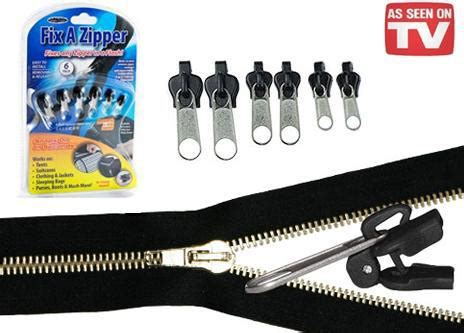 Fix A Zipper Replacement Repair Kit 6 In 1 Resleting Fix fix a zipper replacement repair broken slider teeth zip fix flash lazada malaysia