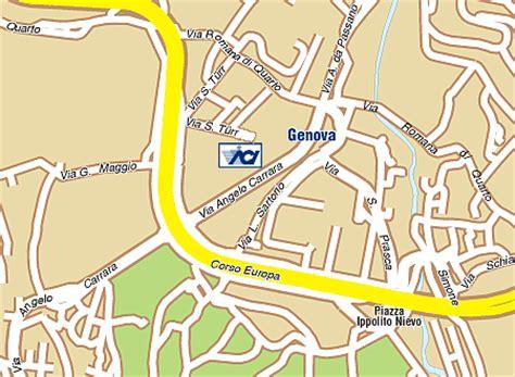 ufficio pra genova unit 224 territoriale aci di genova dove ci trovi