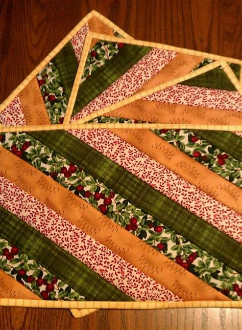 top 25 ideas about quilted placemats on place