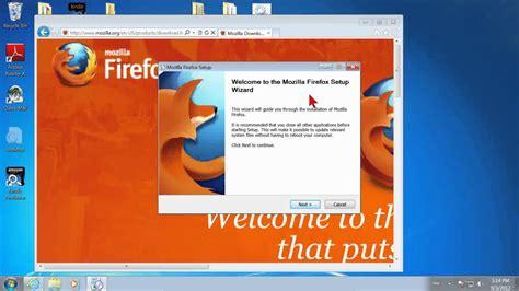 How to Install Firefox on Windows 7 - YouTube Install Firefox Windows 7