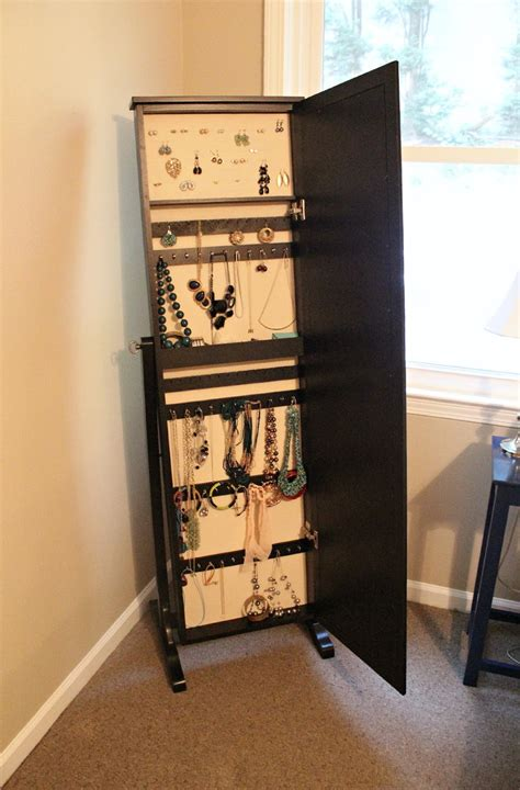 mirrored jewelry armoire ikea mirror jewelry armoire ikea home design ideas