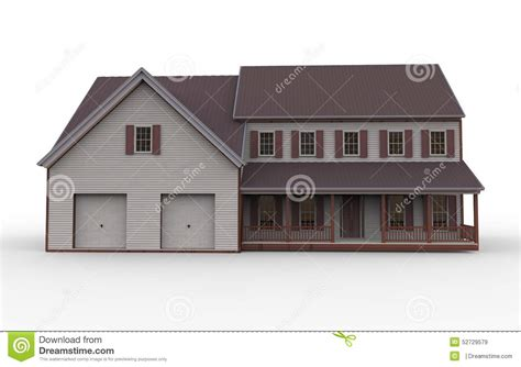three dimensional house plans three dimensional house stock illustration image 52729579