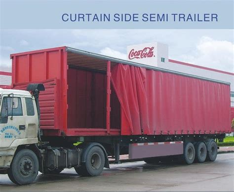 curtain side trailer parts curtain side semi trailer