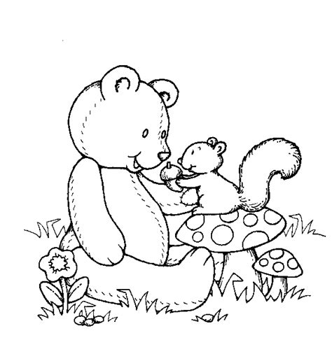 Teddy Bear Coloring Pages For Kids Coloringpagesabc Com Free Printable Teddy Coloring Pages