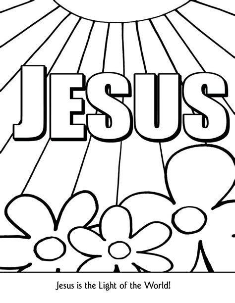 Bible Coloring Pages For Sunday School Lesson Bible Coloring Pages Free