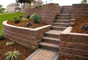 Retaining wall ideas for sloped backyard www imgarcade com online image arcade