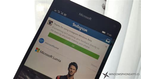 instagram mobile instagram beta para windows 10 mobile ya se puede