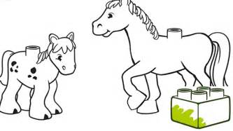 lego friends coloring pages horse - Lego Friends Horse Coloring Pages