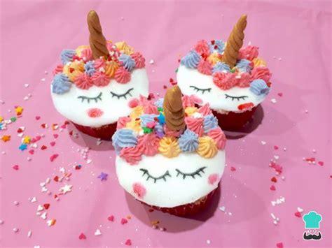 decorar cup cakes faciles cupcakes de unicornio con fondant 161 s 250 per f 225 ciles