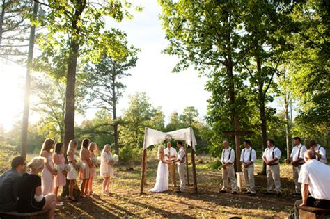 small intimate backyard wedding real weddings adrianne richard s handmade country wedding