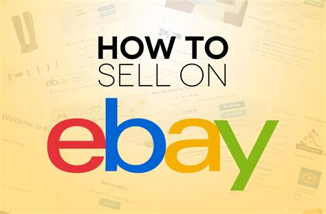 How To Sell On Ebay how to sell on ebay digital trends
