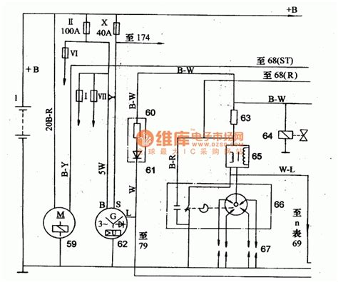 pajero alternator wiring diagram mitsubishi alternator
