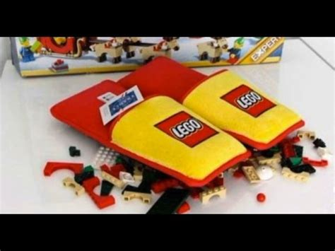 lego slippers for lego creates foot saving slippers for a lucky few