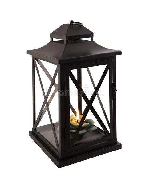 lanterna con candela lanterna con lume di candela immagine stock immagine di