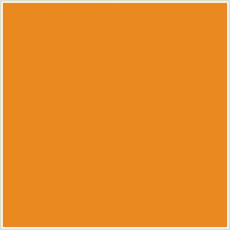 carrot colors eb8921 hex color rgb 235 137 33 carrot orange orange