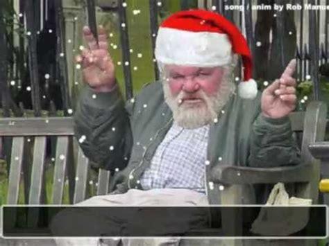 drunk santa singing christmas greeting card youtube