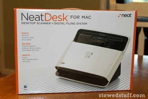 get organized with neatdesk stowed stuff