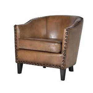 real leather tub chair brown vintage aged leather sofas chesterfields chairs