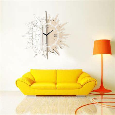 luxury wall stickers 3d luxury wall stickers diy quartz time clock acrylic