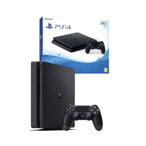 used ps4 console used sony playstation 4 500gb ps4 console black on onbuy
