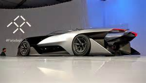 Are Electric Cars The Future Of Driving The Faraday Future Batmobile Like Concept Car Doesn T