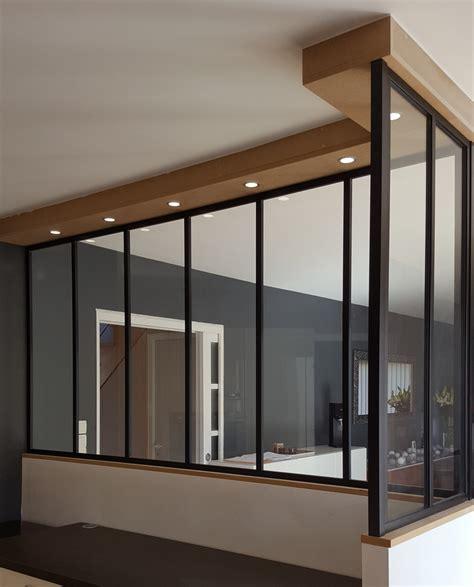Séparation intérieure style verrière atelier à Nantes