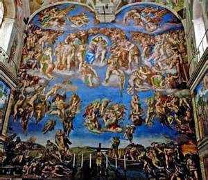 What Is Painted On The Ceiling Of The Sistine Chapel last judgment the christian diarist