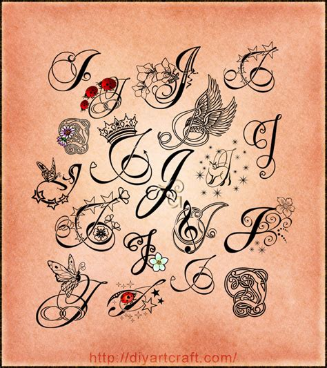 letter a tattoo pin by jester on can a