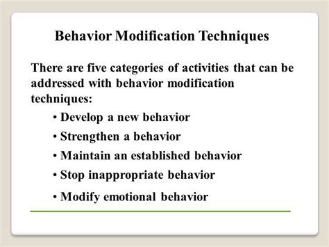 Behavior Modification What It Is And How To Do It Pdf by Behavioral Performance Management Ppt