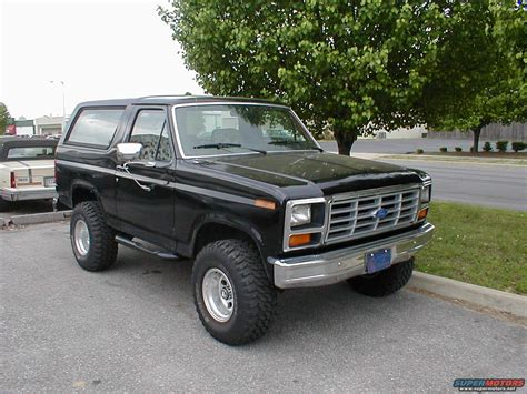 1983 Ford Bronco by 1983 Ford Bronco Other Vehicles Picture Supermotors Net
