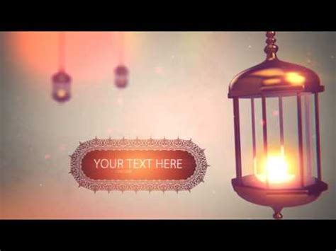 Ramadan Pack Islamic After Effects Template Youtube Islamic After Effect Template