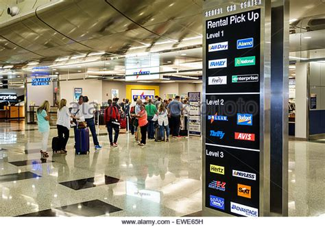 rental car airport stock  rental car airport stock