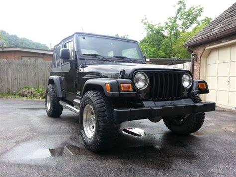 2003 Jeep Wrangler Se Buy Used 2003 Jeep Wrangler Se Sport Utility 2 Door 2 4l
