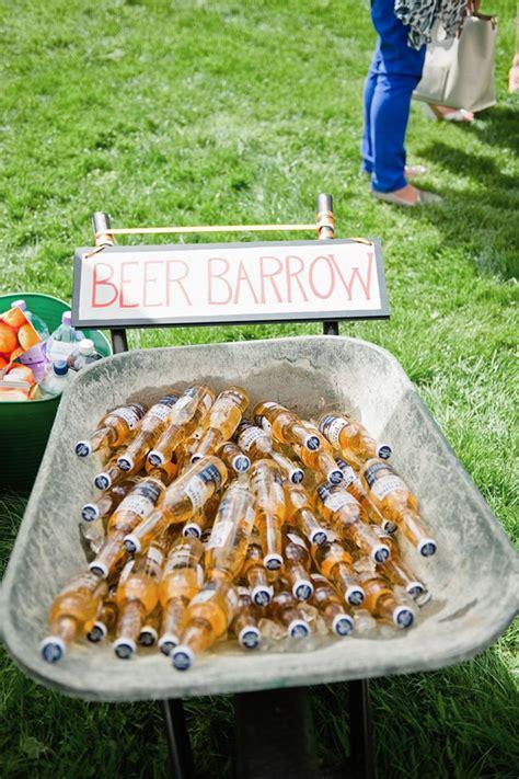 backyard beer 20 brilliant wedding bar ideas to make your day