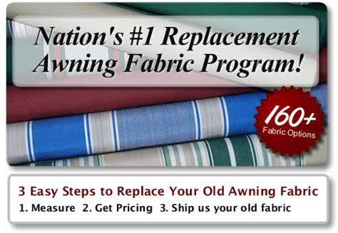 Sunsetter Awning Replacement Fabric by Replacement Awning Fabric For Retractable Awnings Window