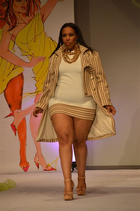full figure model hair tru diva designs at full figured fashion week 2013