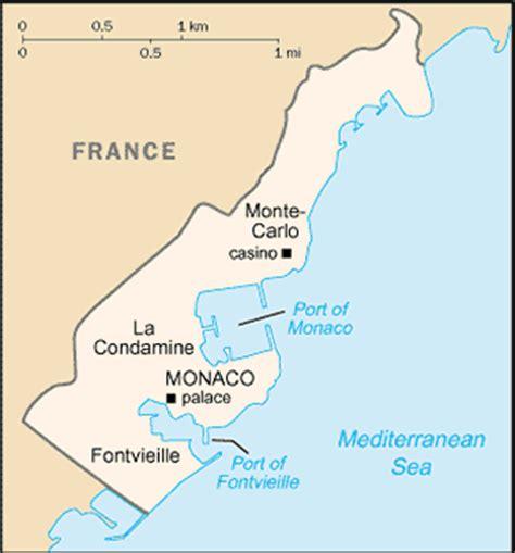 travelblog map  monaco