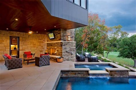 modern home design with pool 33 pool houses with contemporary patio