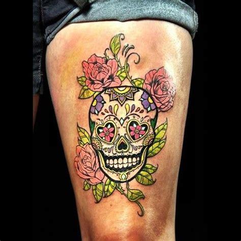 sugar skull tattoo designs for women 25 best ideas about sugar skull sleeve on