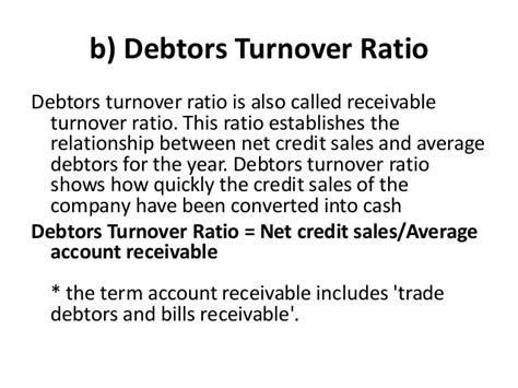 Credit Turnover Ratio Formula Ra