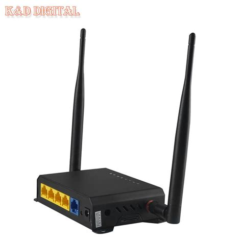 Wifi Router 4g 300mbps openwrt firmware sim slot wifi router with pci e slot support 3g 4g ac module in