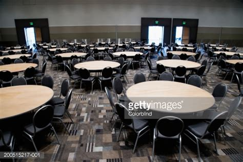 a room full of room full of chairs and tables stock photo getty images