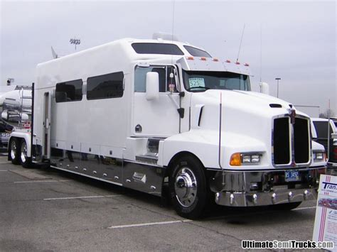 big semi trucks with sleeper