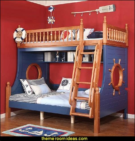 Theme Bunk Beds Decorating Theme Bedrooms Maries Manor Nautical Bedroom Ideas Decorating Nautical Style