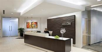 Front Desk Tips by Wall Treatment Office Reception Offices